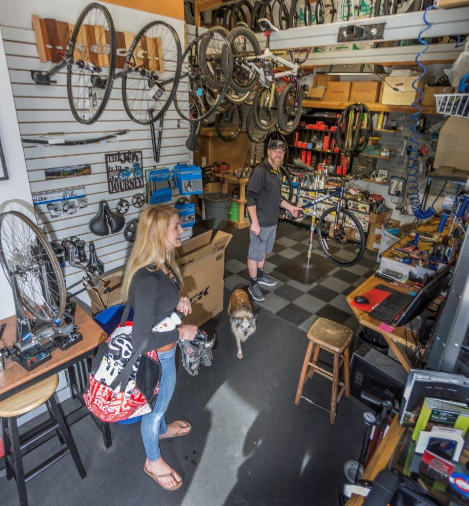 Carmel Bicycle Service Department