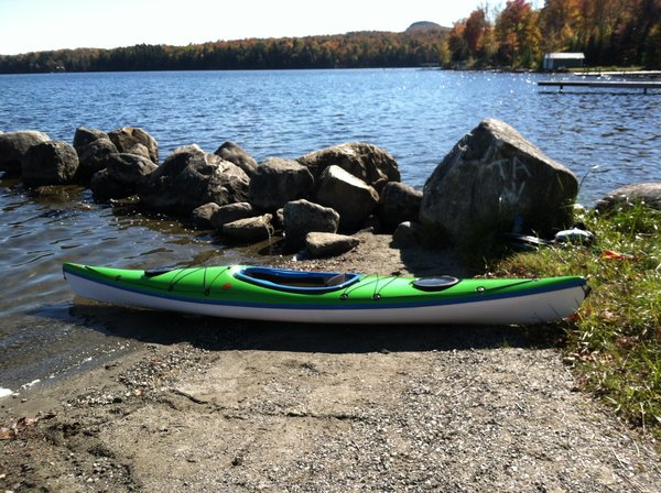 "Lincoln Kayaks Quoddy Light 12' 6"" Lime Green"