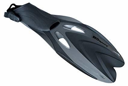 H2Odyssey H2Odyssey ABACO Fin F5 Black/Silver Medium