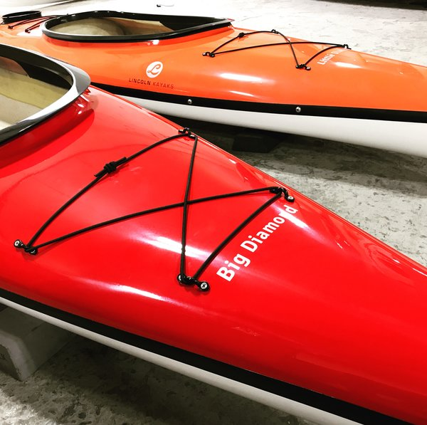 Lincoln Kayaks Big Diamond Red 12' 6""