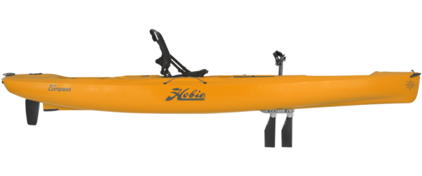 Hobie Cat Hobie 12' Compass Mirage Kayak DLX Papaya