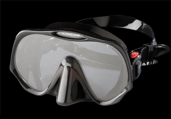 Atomic Atomic Aquatics Frameless Black Mask Medium