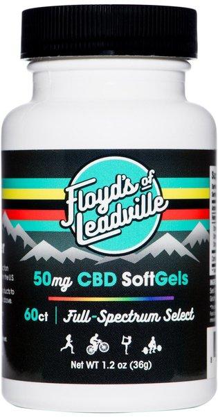 Floyd's Of Leadville Floyd's CBD Full Spectrum Softgel 50mg Qty 60
