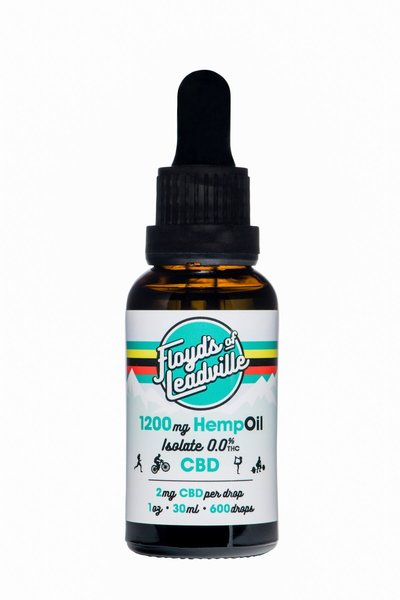 Floyd's Of Leadville Floyd's of Leadville CBD Tincture: Isolate (THC Free) 1200mg
