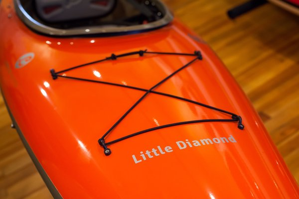 Lincoln Kayaks Little Diamond Orange 10' 10""