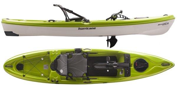 Hurricane Aquasports Hurricane Skimmer 120 Propel Green