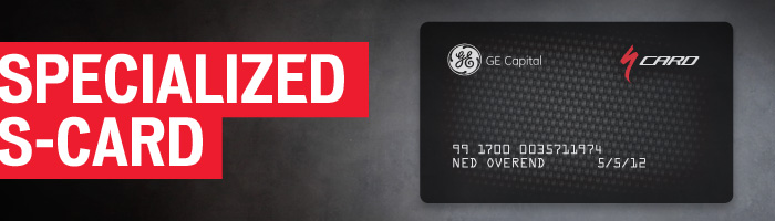 Specialized S-Card Financing