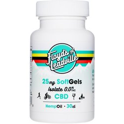 Floyd's Of Leadville Floyd's of Leadville CBD Softgel: Isolate (THC Free) 25mg, Qty 30