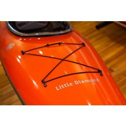 Lincoln Kayaks Little Diamond Orange 10' 10