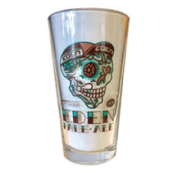 Eden Bicycles Pint Glass