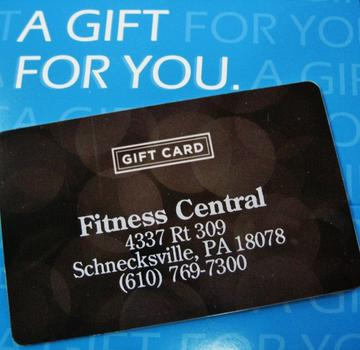 Fitness Central Gift Card