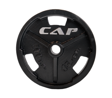Cap Barbell Olympic Grip Plates