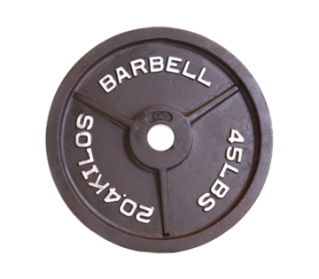 Cap Barbell Olympic Plates - Black