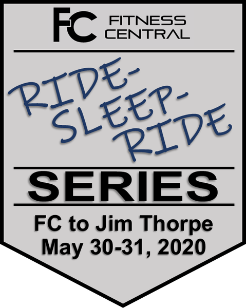 Fitness Central Ride-Sleep-Ride - FC to Jim Thorpe Registration