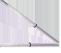 Cap Barbell 7' Bar Solid Chromed