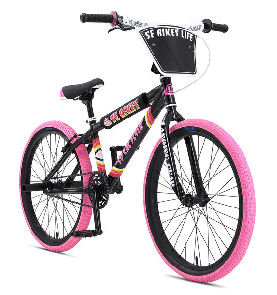 "SE Bikes SE Bikes 24"" So Cal Flyer BLACK with PINK"