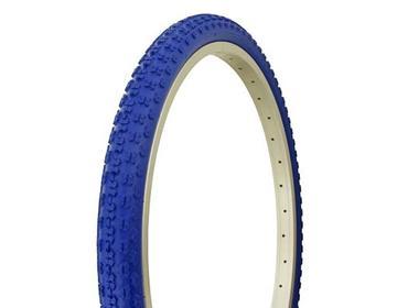 "Duro Tire 24"" x 1.75"" Blue/Blue Side Wall HF-143G"