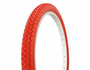"""Duro Tire 24"""" x 2.125"""" Red/Red Side Wall HF-133"""