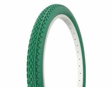 "Duro Tire 24"" x 2.125"" Green/Green Side Wall HF-133"