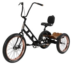 3G ASBURY DELUXE THREE WHEELER W/DISC BRAKES 1SPD