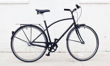 Detroit Bikes A-Type 3 speed Men's Matte Black