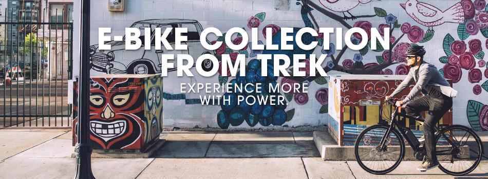 e-bikes from Trek