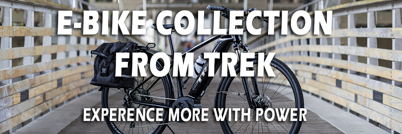 Trek's e-bike collection