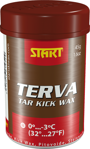 START TERVA KICK WAX: RED; 45G