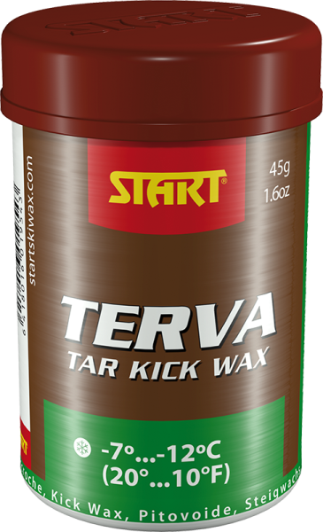 START TERVA KICK WAX: GREEN; 45G