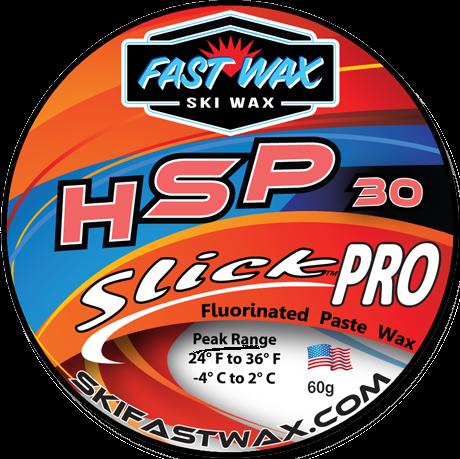 Fast Wax HSP-30 SlickPro Red