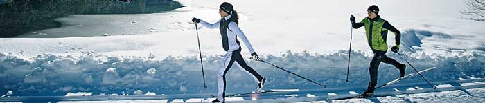 Nordic Ski gear now in stock at Bike Dr. Stop in today to see our full selection.