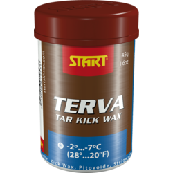 START TAERVA KICK WAX: BLUE; 45G