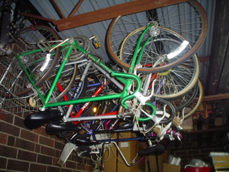 Schwinn and Trek Road bikes from the 70 and 80's