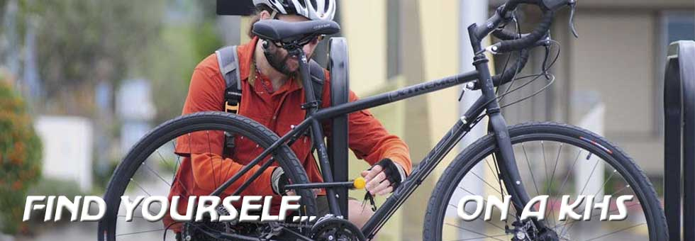 Find Yourself on a KHS Bicycle!
