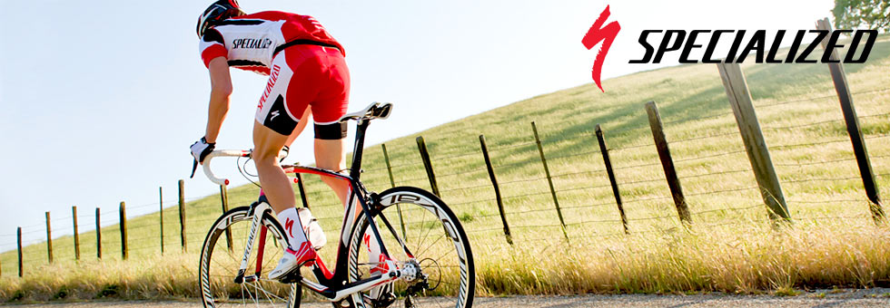 We have Specialized Bicycles