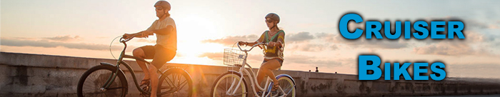 Cruise around town on a sweet Cruiser Bike from Pure Ride Cycles!