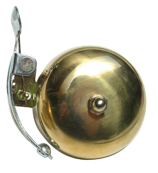 Crane Suzu Bell w/Lever Strike Color: Brass