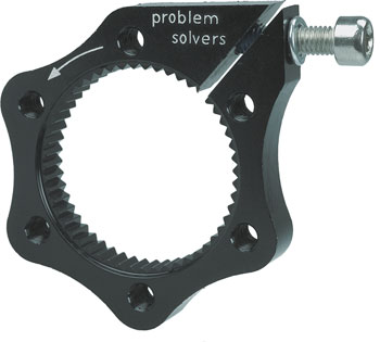 Problem Solvers Center-Lock Adaptor for 6-Bolt Disc Brake Rotor