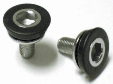 Various Manufacturers Standard Crank Bolt with dustcap. 8mm hex. PAIR