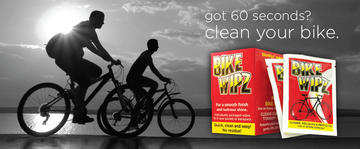 BikeWipz Bicycle Cleaning Wipes