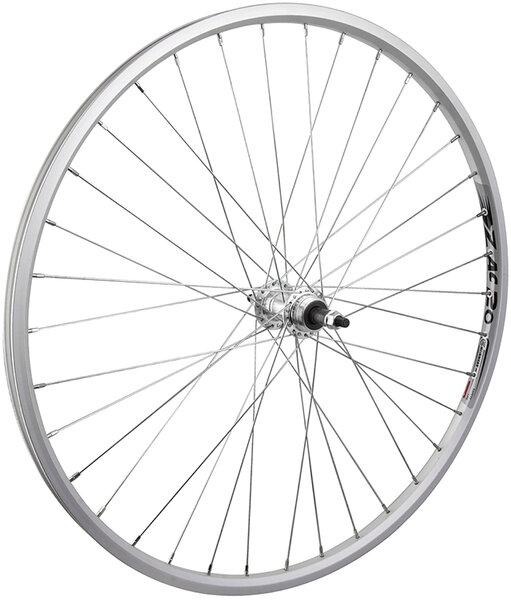 Harris Cyclery 26 x 1-3/8 (590) Rear Wheel. Weinmann Alloy Rim, Freewheel Hub, 36 Spokes