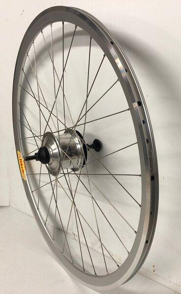 Harris Cyclery 700c 8-speed Alfine Hub/Deep-V Wheel, Shifter Included