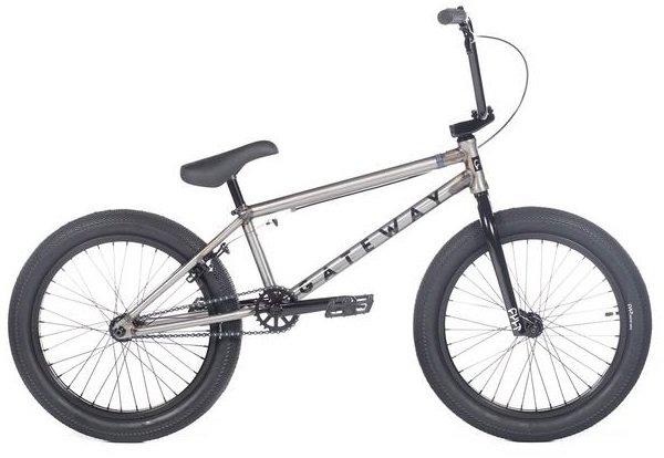 "CULT Gateway 20"" BMX Bike Raw/Black"