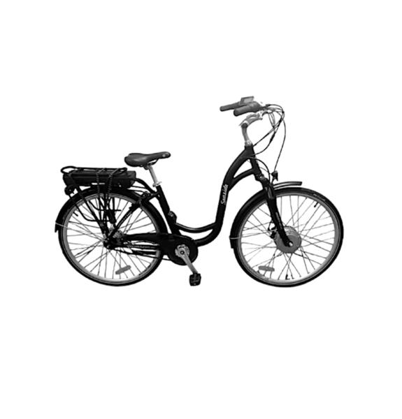 Fifield Seaside 8 speed Electric-Assist Bike Black