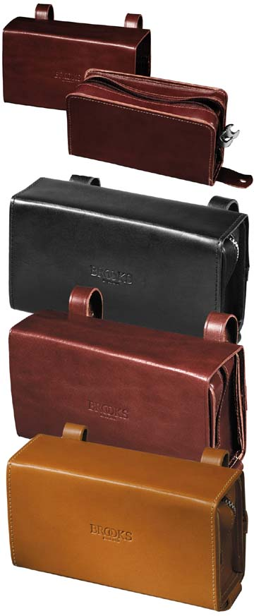 55fa2d9819 Brooks D-Shaped Leather Bicycle Tool Bag - Honey - Harris Cyclery ...