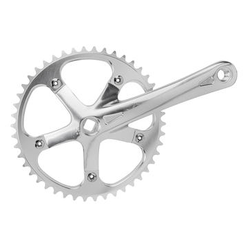 Origin8 Singlespeed / Fixed gear Crank Set w/46T Ring Silver