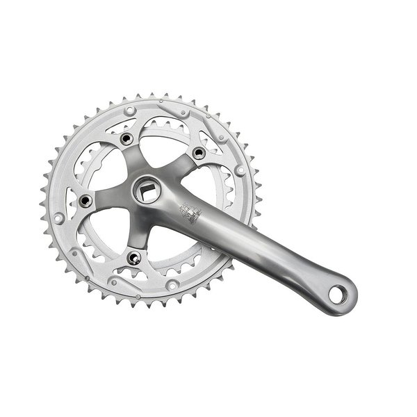 New Albion Crank Set XDD Compact Double 110mm 46-34 teeth