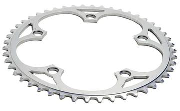 Sugino 110mm BCD Chainring No Ramps Silver