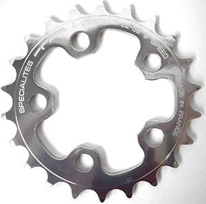 T.A. Specialites Zelito 74mm BCD Chainrings (Inner for Triple)