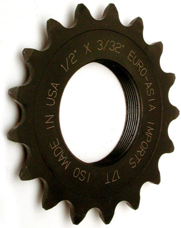 E.A.I. 21 tooth 3/32 Fixed-gear Track Cog